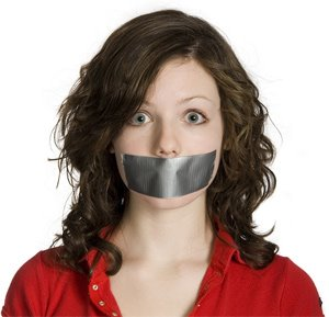 Blended Families duct-tape-over-womans mouth